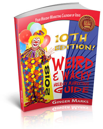 Weird & Wacky Holiday Marketing Guide cover 3D